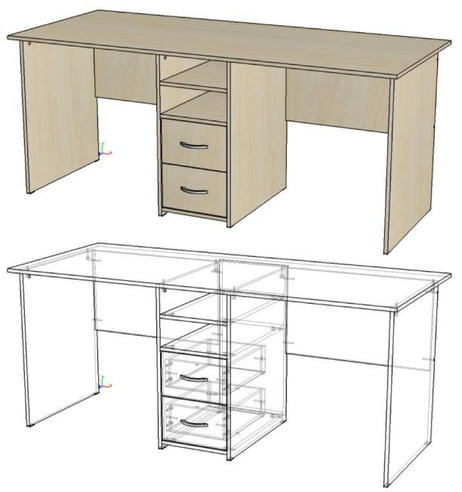 Модульная мебель для детской Мийа - 2 (5 предметов)