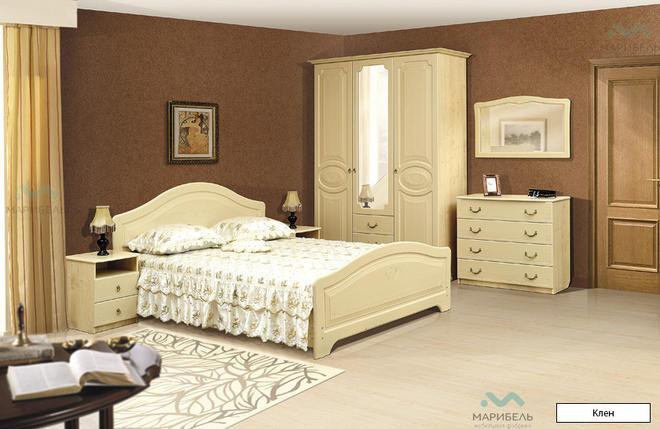 Модульная спальня Ивушка-5 МДФ с рисунком