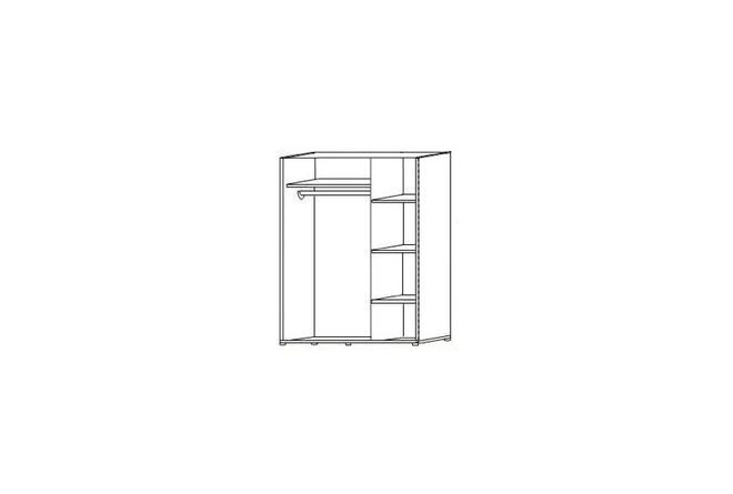 ФН- Шкаф трехстворчатый ШК-301 (РииКМ)