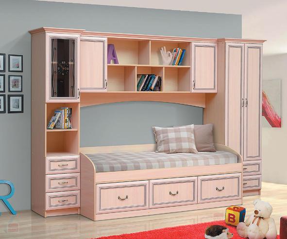 Детская мебель Омега-7 Рамочная