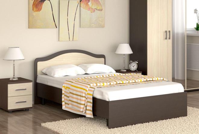 Кровать Лиана с ортопедом (1200х2000)
