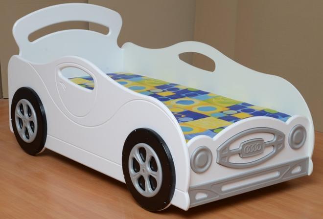 Кровать -машинка №1 для мальчика Омега-12 мдф