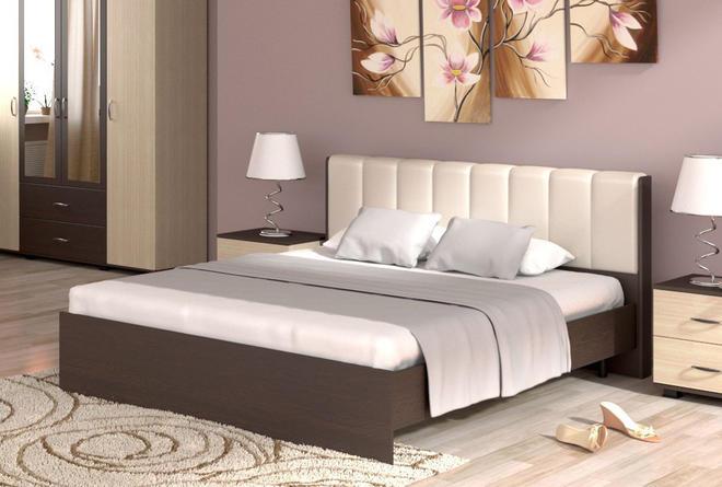 Кровать Рондо с ортопедом (1600х2000)