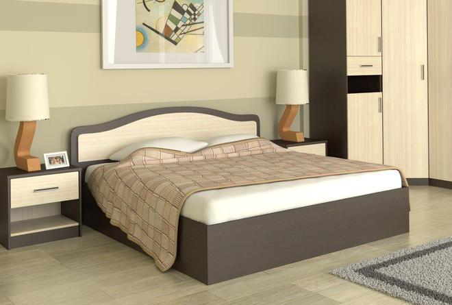 Кровать с ортопедом Лиана (1600х2000)