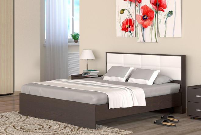 Кровать с ортопедом Сонет (1400х2000)
