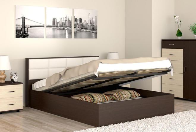 Кровать с подъёмным механизмом Сонет (1600х2000)