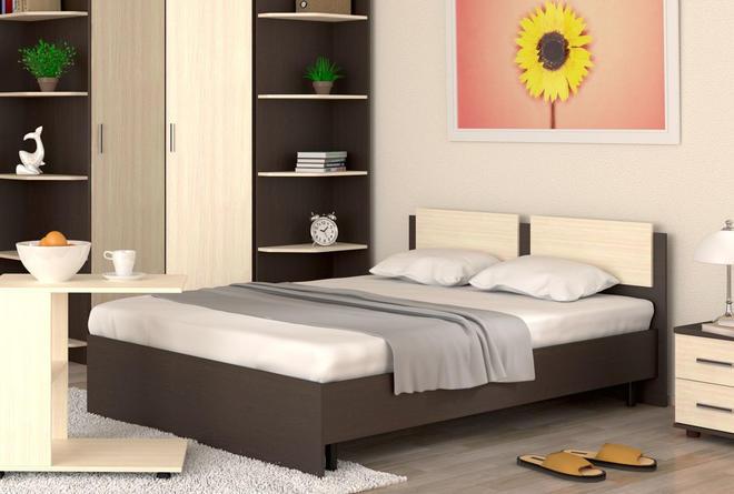 Кровать Танго с ортопедом (1400х200)