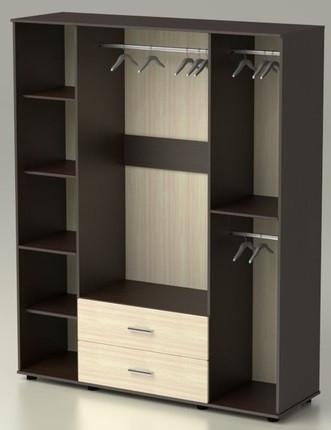 Шкаф Максим с ящиками и зеркалами