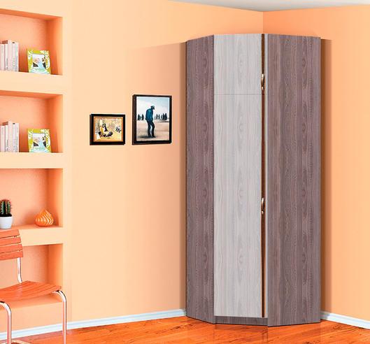 Угловой шкаф с антресолью Флагман-5