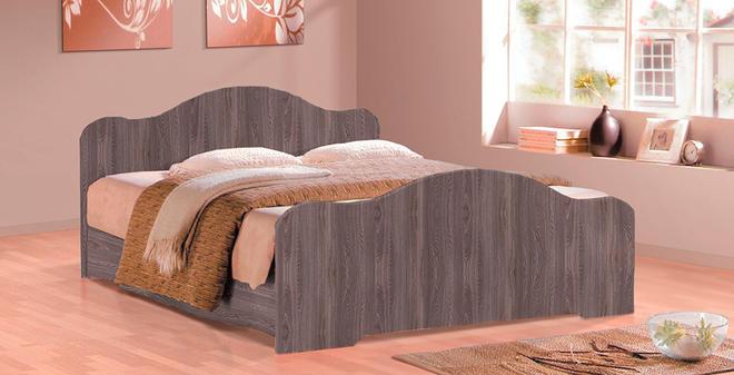 Кровать-5 (1400х2000) Фант с 2-мя фигурными спинками