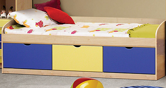 Кровать с тремя ящиками Фант МДФ