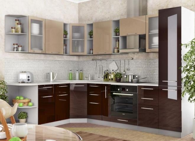 Модульная кухня Ксения МДФ