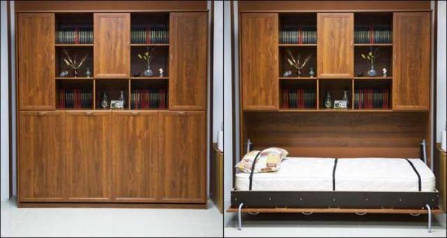 Кровать подъёмная горизонтальная К-03 900х2000