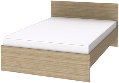Кровать с ортопедом 1400х2000 К-14 (7 вариантов цвета)