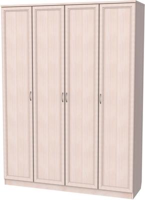 Шкаф 4-х дверный АРТ-109 с зеркалами