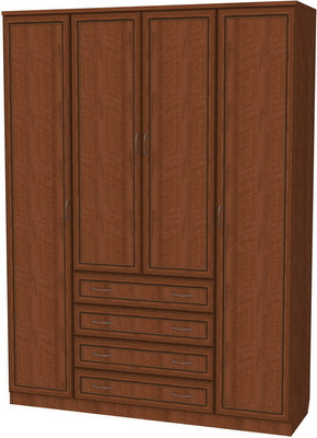 Шкаф 4-х дверный ящиками АРТ-110