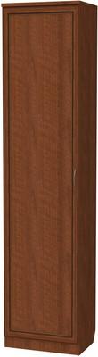 Шкаф с выдвижной штангой АРТ-107 с зеркалом (7 вариантов цвета)