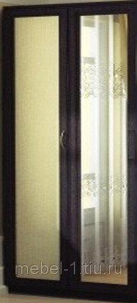 Шкаф со штангой АРТ-100 с зеркалом