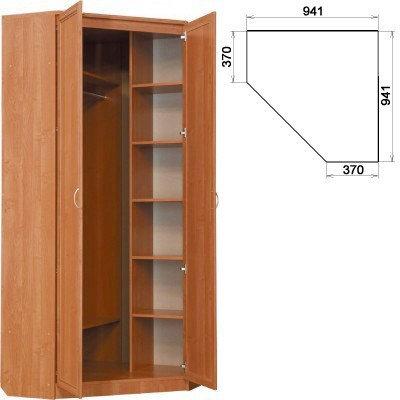 Шкаф угловой 2-х дверный АРТ-401
