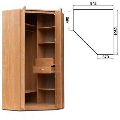 Шкаф угловой 2-х дверный АРТ-403