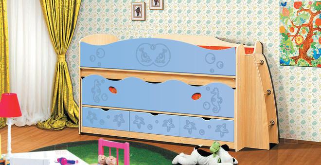 Кровать двухъярусная  Фант-Мебель Омега 10