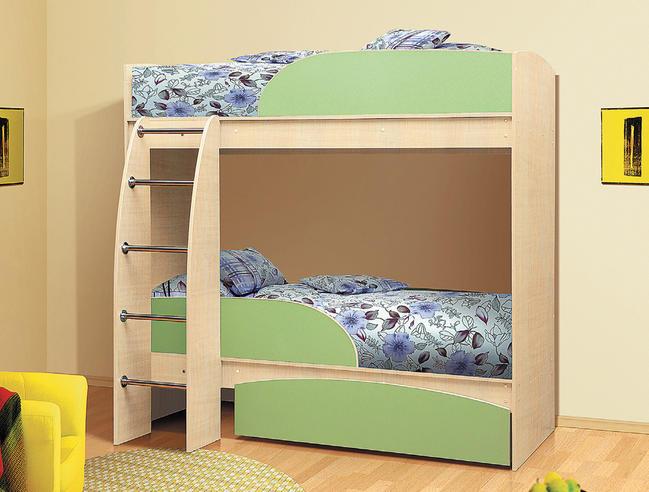 Кровать двухъярусная  Фант-Мебель Омега 4