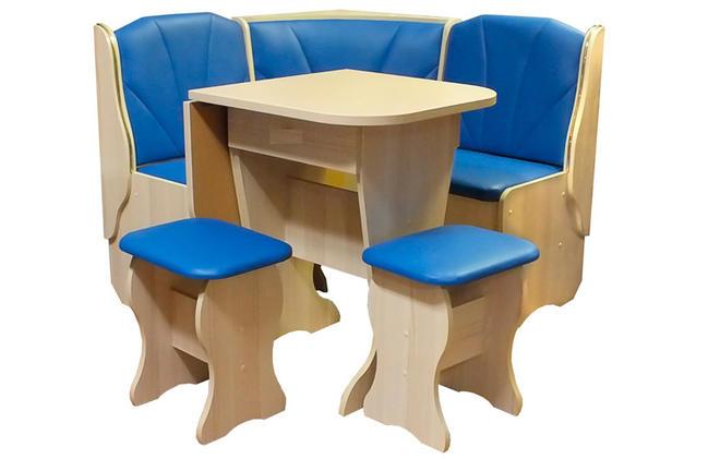 Кухонный уголок Тандем с раскладным столом
