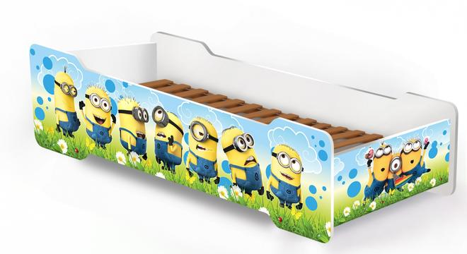 """МГ- Детская кровать """"Старкис"""" Миньоны"""