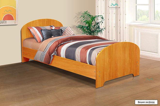 Кровать одинарная 800х1900 мм