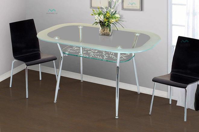 Стол обеденный и кухонный Стеклянный - 4С