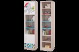 """Модульная детская """"Джимми"""" Шкаф для книг с 2 дверками"""