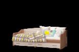 """Модульная детская """"Вояж"""" Кровать софа с ящиками"""