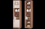 """Модульная детская """"Вояж"""" Шкаф для книг с дверками"""