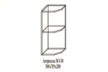 """Модульная кухня """"Жасмин"""" шкаф нижний """"НО-30"""" (левый)"""