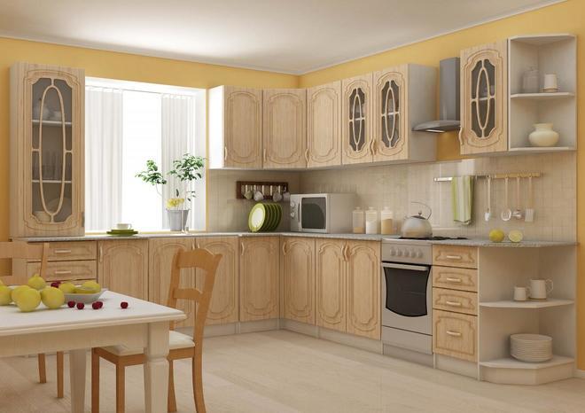 Модульная кухни Лира (Настя) МДФ