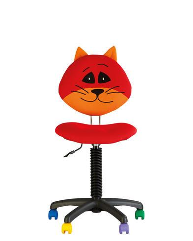 """МР- Кресло детское компьютерное поворотное """"Кот"""" For kids GTS RU CAT"""