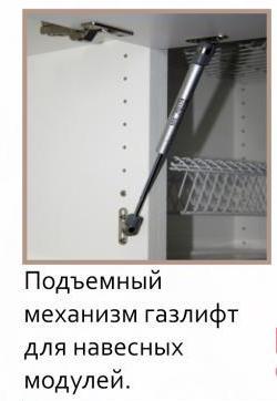 """МР- Кухонный гарнитур """"Латте Ваниль"""" 1.6 метра МДФ (Можга)"""
