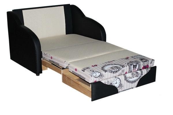 Детский диван Джерри-2 (ткань- Париж, подлокотники- ткань)
