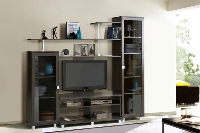Гостиная-тумба ТВ Эдвард-9 (вариант-1)