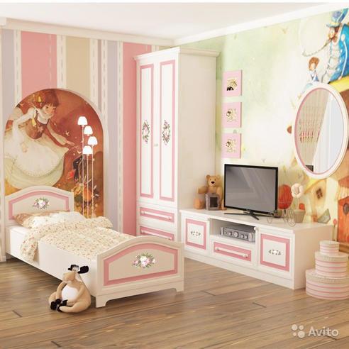 Модульная детская Алиса (13 предметов)
