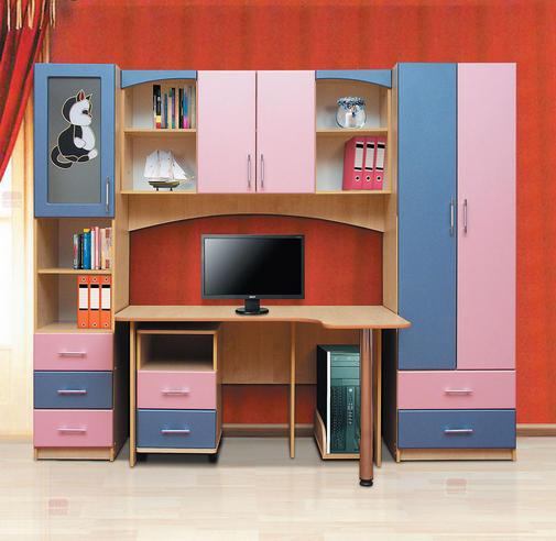 Набор мебели для  школьника  Фант-Мебель Омега 6