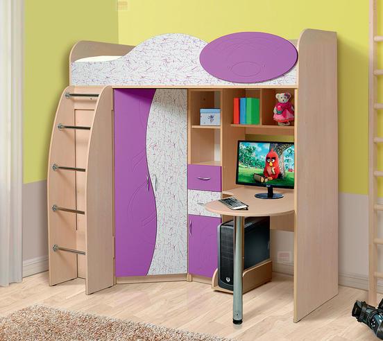 Набор мебели для  школьника  Фант-Мебель Омега 9 МДФ