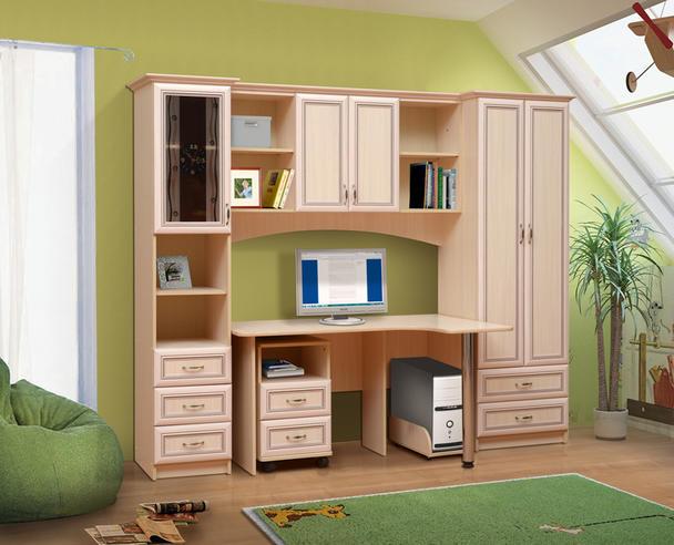 Набор мебели для школьника  Фант-Мебель Омега 6 рамочный