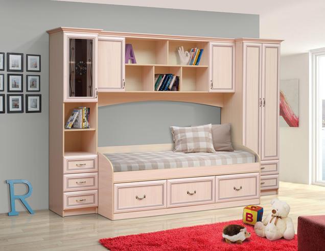 Набор мебели для школьника  Фант-Мебель Омега 7 рамочный