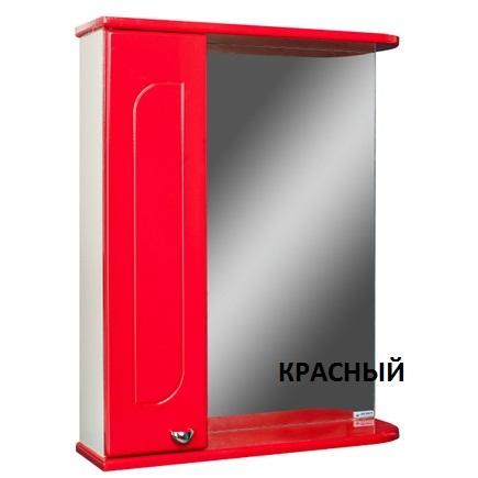 Шкаф-зеркало АЙСБЕРГ РАДУГА 50-L левый