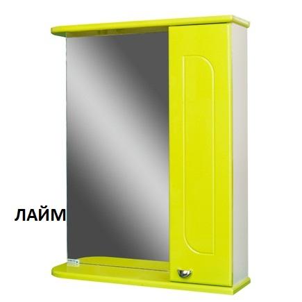 Шкаф-зеркало АЙСБЕРГ РАДУГА 55-R правый