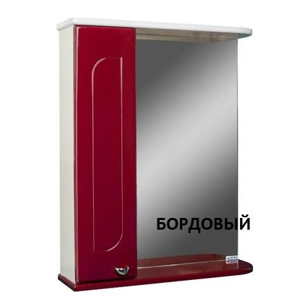 Шкаф-зеркало АЙСБЕРГ РАДУГА 60-L левый