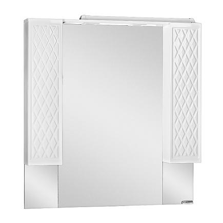 Шкаф-зеркало ДОМИНО 3D 100 с подсветкой