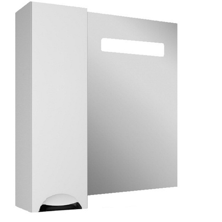 Шкаф-зеркало ДОМИНО Грация 75 левый с подсветкой LED