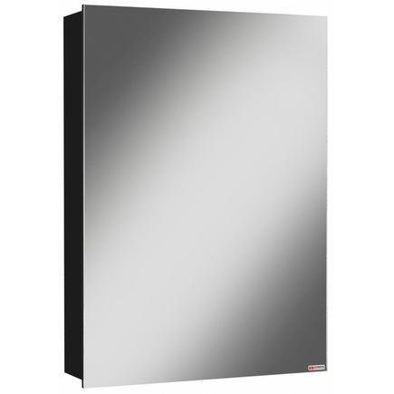 Шкаф-зеркало ДОМИНО Хеппи 50 L/R Черный левый/правый